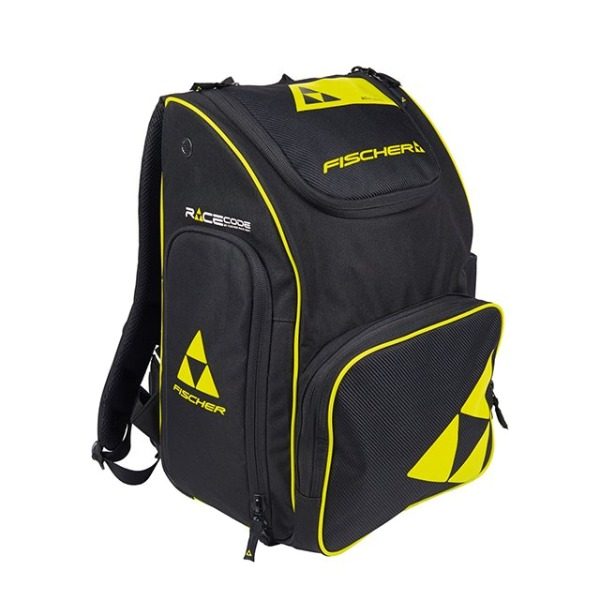 피셔 1920 가방 BACKPACK RACE 55L BLACK/YELLOW