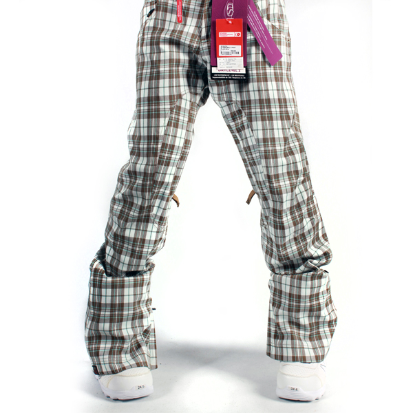 여성보드복 BONFIRE W HEAVENLY PNT PLAID SILK