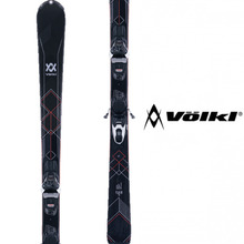 뵐클스키 1718 VOLKL Flair 73 BLACK + VMotion 9.0 Lady 여자스키