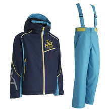 미즈노 아동 스키복 1718 MIZUNO SNOW GEAR JR. SUITS (N-XT) 14