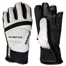 아동스키장갑 1718 PHENIX Formula JR Glove WHT/BK